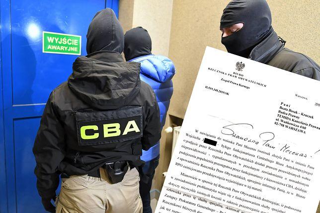 Sprawą byłego oficera CBA zajął się Rzecznik Praw Obywatelskich