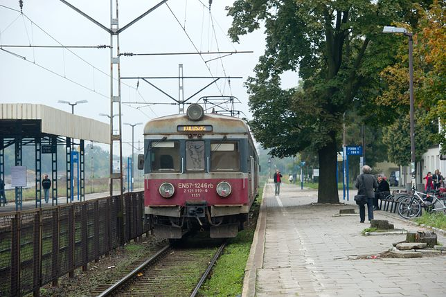 Do wypadku doszło na odcinku Łódź Widzew - Łódź Dąbrowa