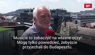 """Budapeszt z """"człowiekiem memem"""". """"Hide the pain Harold"""" pokazuje WP swoje ulubione miejsca"""