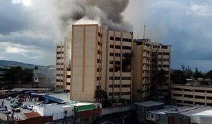 Pożar budynku ministerstwa finansów. Są zabici i ranni