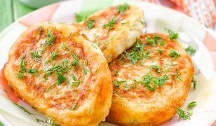 Placki z gotowanych ziemniaków. Szybki obiad za grosze