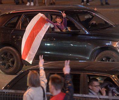 Białoruś. Protesty w Mińsku. Brawurowa akcja kierowcy (zdjęcie ilustracyjne)