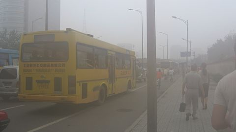 Chiny chcą użyć dronów by pozbyć się smogu