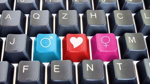Miłość z Internetu bardziej ślepa niż ta rzeczywista
