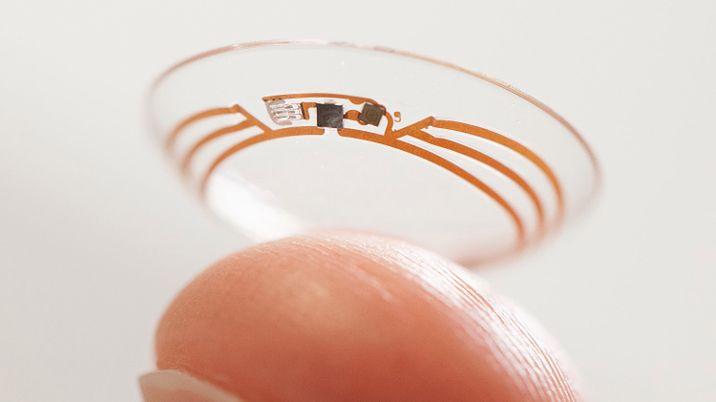 Google prezentuje szkła kontaktowe dla diabetyków
