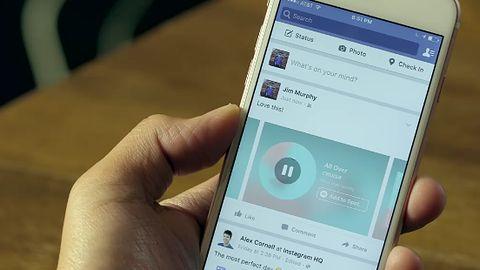 Facebook wreszcie otwiera się na usługi muzyczne, choć tylko na iPhone'ach