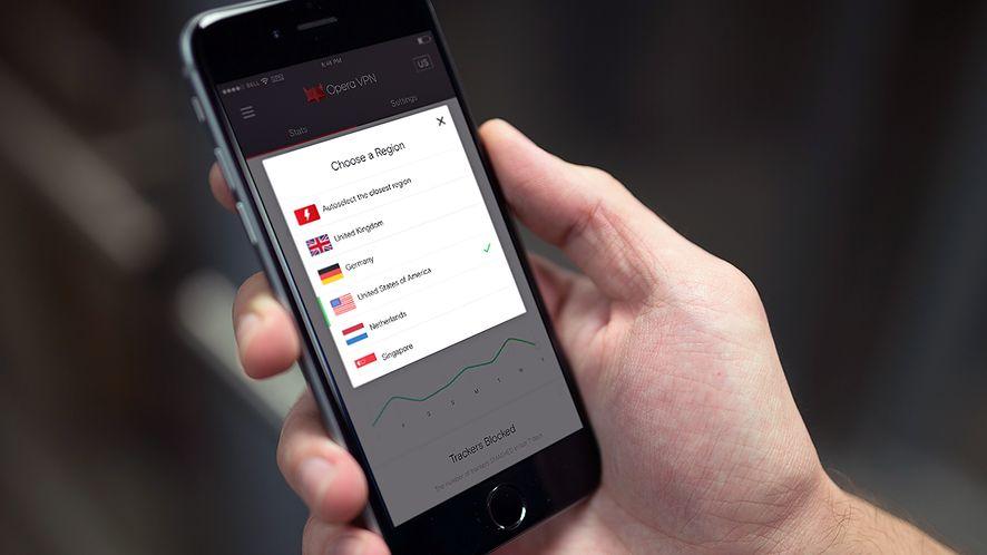 Prywatność także na iPhone'ach i iPadach: Opera VPN już dostępna