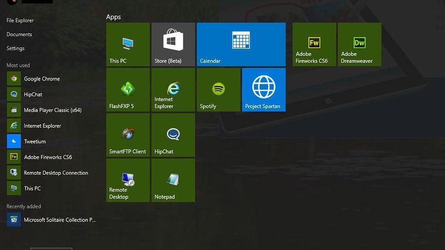 Windows 10 build 10056: rozpoznawanie muzyki, ulepszone Menu Start i kalendarz