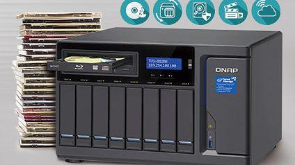 QNAP prezentuje serię TVS-882BR Blu-ray NAS