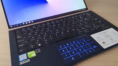 ASUS ZenBook 14 – test wydajnego laptopa z klawiaturą numeryczną w gładziku