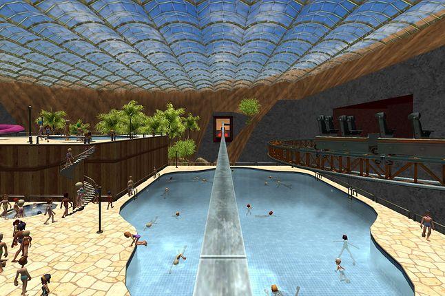 Screenshot z gry RollerCoaster Tycoon 3