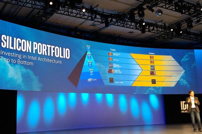 Piramida obliczeniowa Intela dla Internetu Rzeczy: mrowie Quarków i elita Xeonów