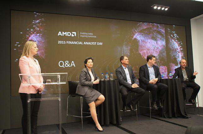 Sesja pytań i odpowiedzi z zarządem AMD