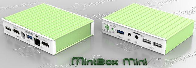 Wersja z preinstalowanym Linux Mintem