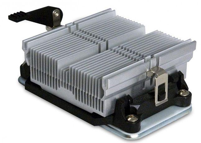 Niedrogi, aluminiowy radiator powinien wystarczyć na procesor nowoczesnego HTPC