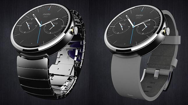 Moto 360, najładniejszy z zegarków Android Wear