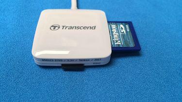 Czytnik kart SD i microSD — Transcend Reader RDA2