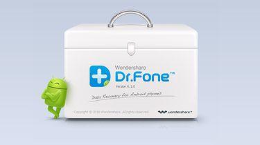 Przywróć usunięte dane! Dr.Fone w akcji