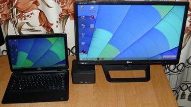 Dell Latitude 7350 + Dell Wireless Dock — czy to się nadaje się do biznesu? (cz.4) - No cóż w pracy wyglądało to tak samo jak w domu. Połączenie z dockiem i dodatkowym monitorem bez zarzutów. No dobra nie miałem aparatu w pracy:)