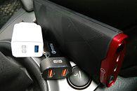 FantAsia: minitest ELE Blitz, Tornado i Thunder, produktów MGCOOL z QC 3.0 - Zestaw do auta i nie tylko ;]