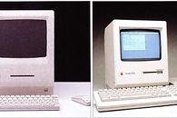 Takim Cię pamiętam – część 1 - Dwie koncepcje liftingu Macintosha. Ta po prawej, to Macintosh Plus.