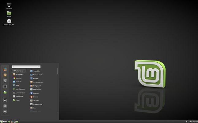 Linux Mint Debian Edition z domyślnym środowiskiem Cinnamon 3.2