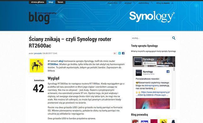 Z wszystkimi wpisami konkursowymi możecie zapoznać się na blogu Synology.