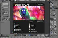 Grafika 3D: Blender, cz. I – interfejs - Ekran startowy Blendera