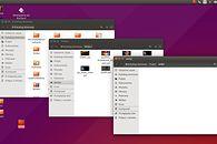 Unity — mały przewodnik po pulpicie Ubuntu - Pulpit w Ubuntu 15.04 - otwarte okna menadżera plików