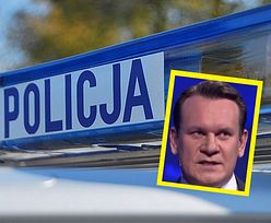 Wypadek europosła PiS. Na jego drodze stanęło seicento