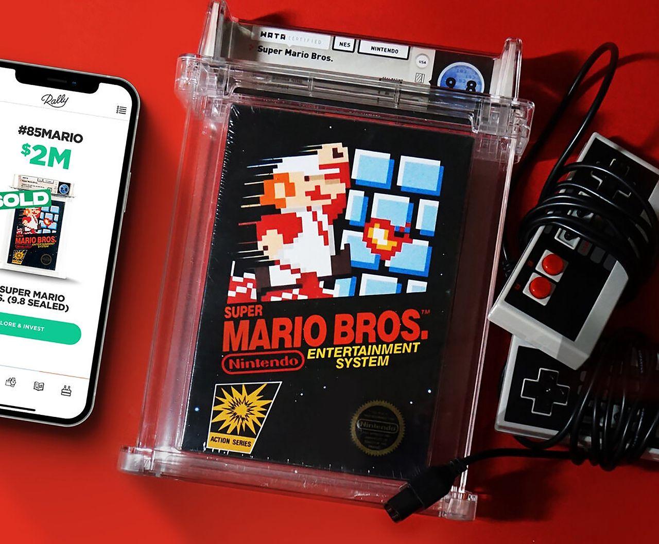Skarb z przeszłości: Super Mario Bros. w cenie wypasionej willi. Coś pięknego - Zapakowany egzemplarz Super Mario Bros. z 1985 r. poszedł za 2 miliony dolarów.