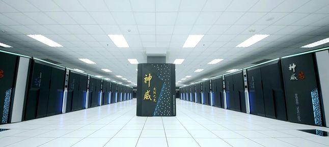 Chiński Sunway TaihuLight – aktualnie najpotężniejszy superkomputer na świecie. Fot. top500.org