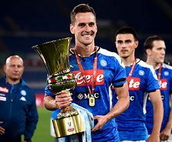 Zabrał Puchar Włoch do domu. Arkadiusz Milik i Jessica Ziółek w niecodziennej sesji zdjęciowej