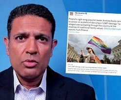 Amerykańska telewizja o sytuacji osób LGBT w Polsce. Miażdżąca krytyka