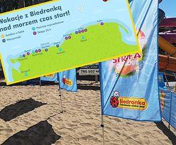 Biedronka staje na rzęsach. Zobacz ofertę dla turystów z kurortów nad Bałtykiem