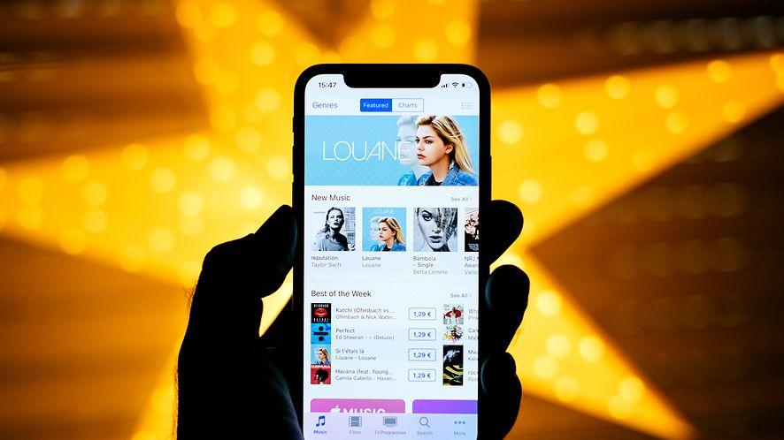 Ksienia Sobczak wybrała iPhone'a X zamiast Samsunga. (depositphotos)