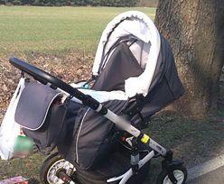 Dziecko płakało w wózku, obok leżeli rodzice. Policjanci nie mogli uwierzyć