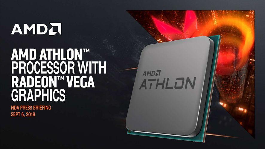 Premiera AMD Athlon 200GE z grafiką Radeon Vega 3, czyli APU Raven Ridge za 55 dol.
