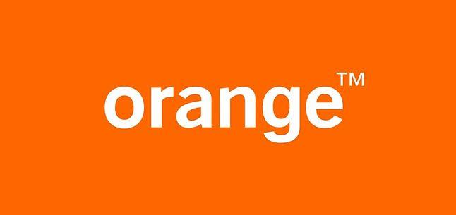 Logo Orange dla przypomnienia. Wyraźnie pokrywają się literki O, R i G z nazwą firmy Orange.