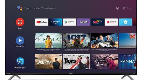 Sharp prezentuje telewizory z bardzo cienką ramką [PRASÓWKA]