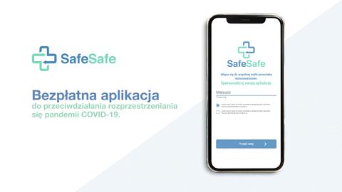 SafeSafe - aplikacja do oceny ryzyka COVID-19. Powstała na bazie wytycznych WHO