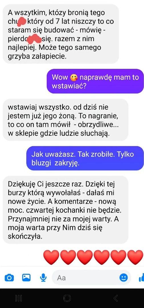 Rozmowa z żoną, którą zdradza mąż