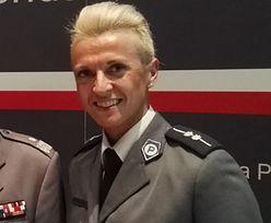 Policjantka jest kulturystką. Reprezentuje Polskę na mistrzostwach