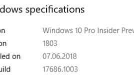 Microsoft ponownie usprawnia elementy dodane we wcześniejszych kompilacjach, czyli Windows 10 17686