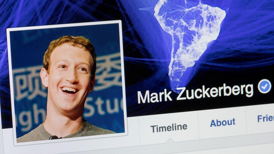 Profil Marka Zuckerberga z depositphotos