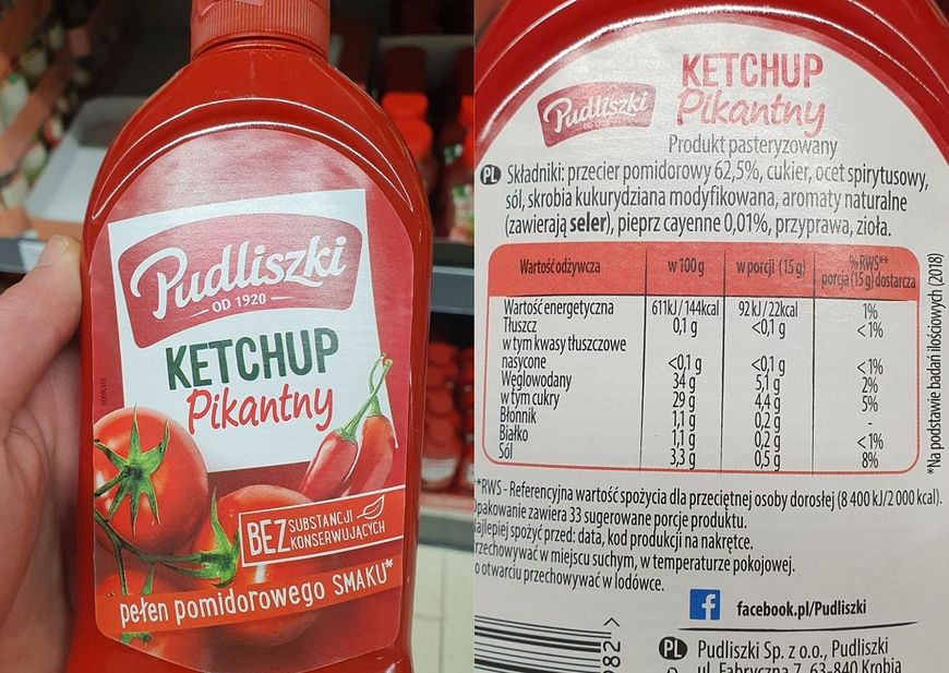 "Ketchup ""Pudliszki"""