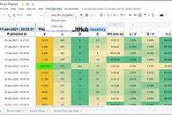 Google Apps Script - zbieramy dane o filmach z playlisty na YouTube i je porównujemy