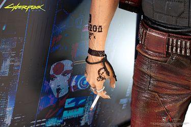 Pure Arts - figurka Johnny'ego Silverhanda z Cyberpunka 2077