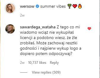 Komentarz Wardęgi