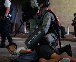"""Chiny grożą Wielkiej Brytanii """"konsekwencjami"""" za ingerowanie w sprawy Hongkongu"""